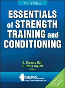Essentials of Strength Training and Conditioning 4th edition textbook