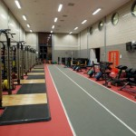 strength and conditioning room