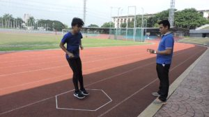 hexagon agility test