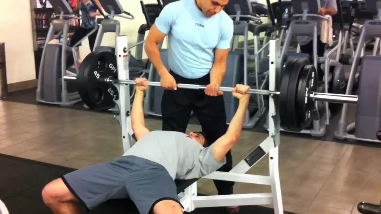 bench press max