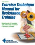 Exercise Technique Manual for Resistance Training CSCS NSCA